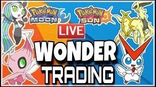 (Wonder trading $hiny Pokemon) Pokemon sun and moon giveaway wondertradIng Shinys GA/Giveaway