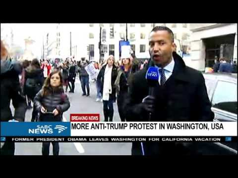 BREAKING NEWS: More than anti-Trump protesters arrested