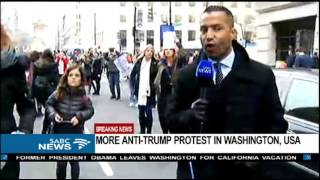 BREAKING NEWS: More anti-Trump protesters arrested