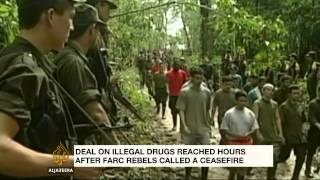Colombia and FARC reach agreement to end drugs