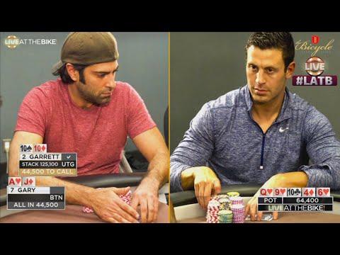 Garrett Adelstein Faces $45,000 River Bluff ♠ Live at the Bike!