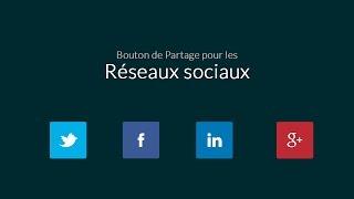 Tutoriel JavaScript : Boutons partage social personnalisés