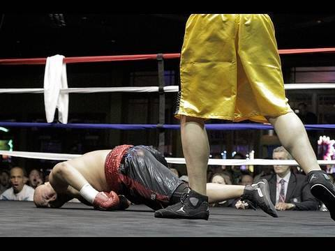 Violent 1st Round Boxing Knockout: JRod Kilkenny KO 1 Paul Cheung