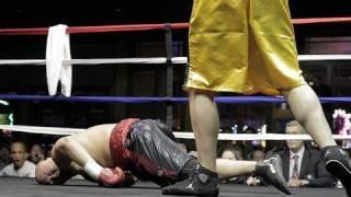 Violent 1st Round Boxing Knockout: JRod Kilkenny KO 1 Paul Cheung