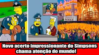 Novo acerto impressionante do Simpsons chama atenção do mundo!