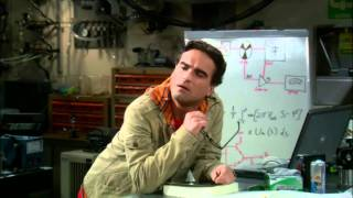 The Big Bang Theory (CBS) - Leonard describes being a physicist