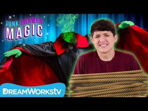 Walker KIDNAPPED by The Headless Magician! | JUNK DRAWER MAGIC