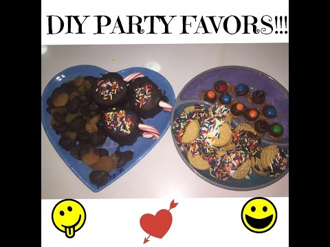 DIY Easy Party Treats!