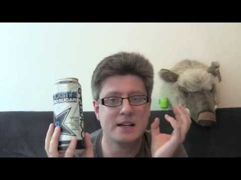 RockStar Zero Sugar Energy Drink Test