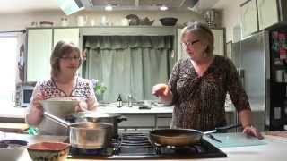 Marycia's Cooking Class-one-cabbage Rolls & Making Cheese