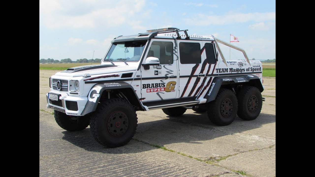 Image gallery mercedes benz 6 x 6 for Mercedes benz amg 6x6 price