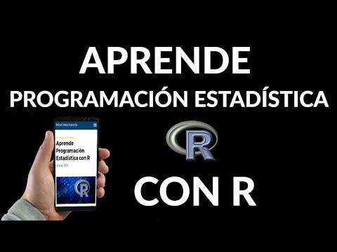 Aprende Programación Estadística con R