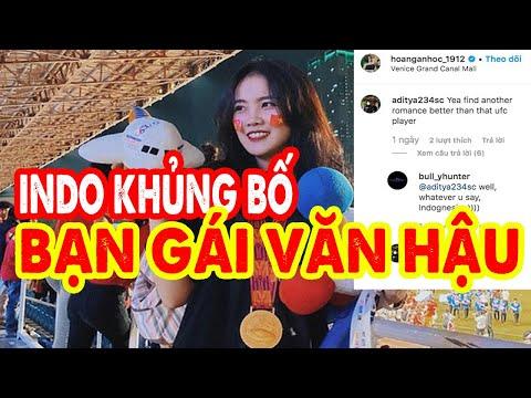 Bạn gái ĐOÀN VĂN HẬU bị FAN INDONESIA vào khủng bố trang cá nhân sau pha phạm lỗi với EVAN DIMAS