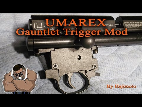 Umarex Gauntlet: Trigger Two stage(ish) Mod