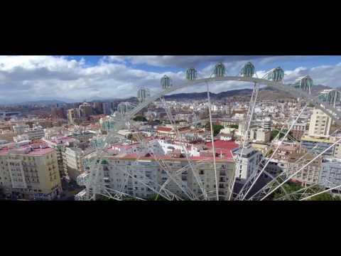 Malaga Drone Video Tour | Expedia