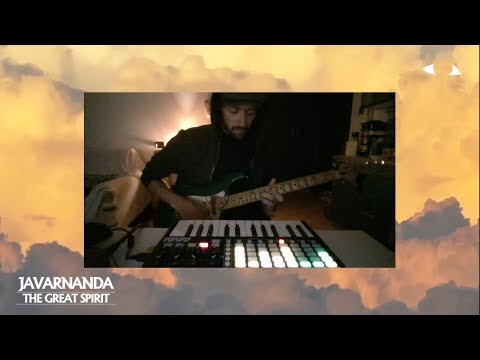 """""""The Great Spirit"""" - Javarnanda / Synthwave Live.  A New Track, Live, from scratch"""