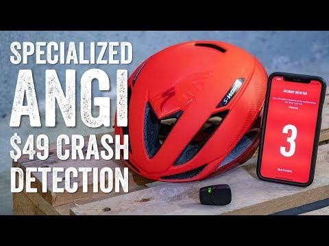 Hands-on: Specialized ANGi Helmet Crash Sensor | DC Rainmaker