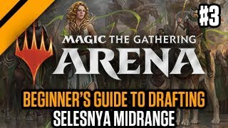 MTG: Arena - Beginner's Guide to Drafting - Selesnya Midrange P3   GRN Quick Draft (sponsored)
