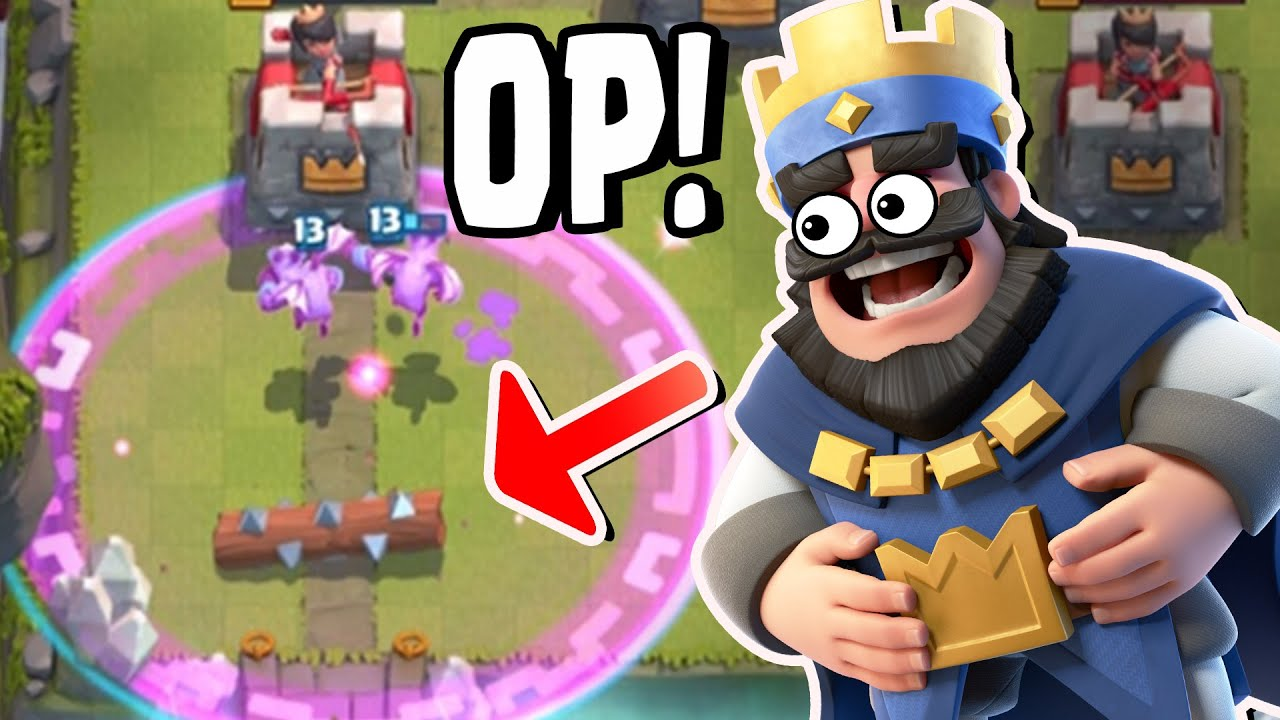 Clash royale the rage log does this even work