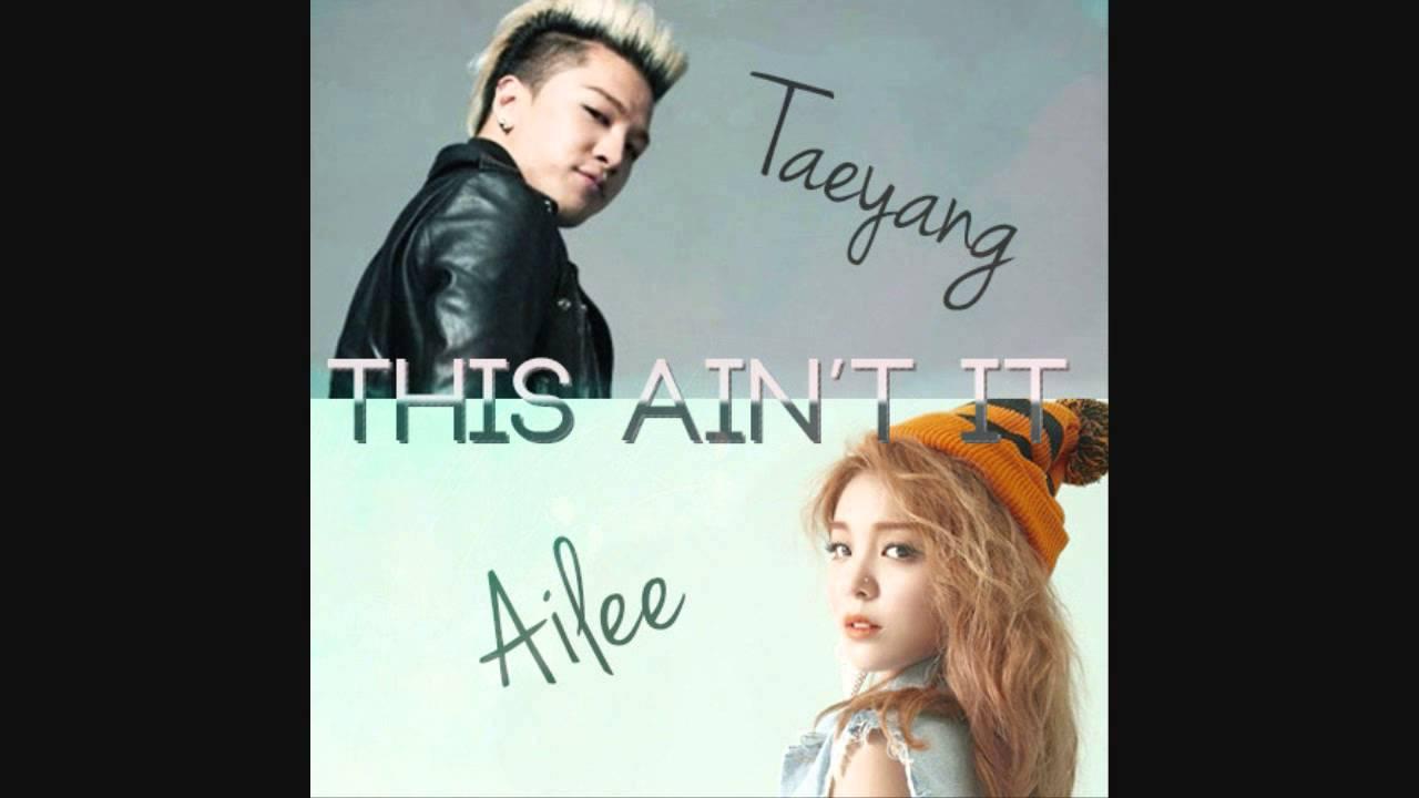 Taeyang a ailee datování