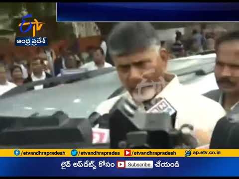 CM Chandrababu Talk on Walk During Padayatra @ Delhi