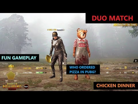 [Hindi] PUBG MOBILE | FUN DUO MATCH WITH CHICKEN DINNER