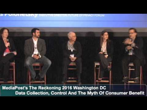 Panel: Data Collection, Control And The Myth Of Consumer Benefit