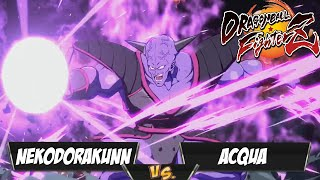 Gambar cover Acqua(Ginyu/GT Goku/Teen Gohan) Fights NekoDoraKunn(Kefla/Beerus/Base Goku)[DBFZ PS4]