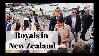 Royals in New Zealand/Принц Гарри и Меган Маркл в Новой Зеландии