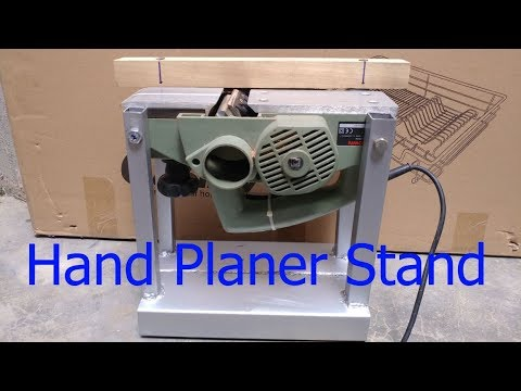 How to make Hand Planer Stand Diy - Making a Benchtop Jointer \ Mr. NVC