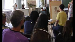 Известный акварелист из Китая дал мастер-класс в Липецке