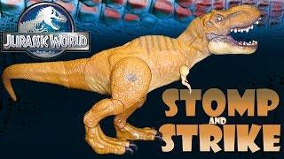 Opening: STOMP & STRIKE Tyrannosaurus Rex ~ Jurassic World Rexy!