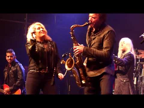 Kim Wilde with Steve Norman - Love Blonde - Coronet, London - December 2015