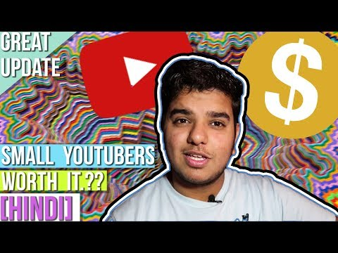 NEW YOUTUBE POLICY [PROBLEMS FOR SMALL CREATORS] ~HINDI from YouTube · Duration:  7 minutes 4 seconds