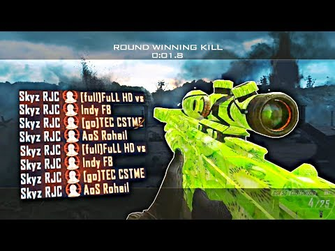 TOP 100 BLACK OPS 2 BANGERS! INSANE QUICK SCOPE/TRICKSHOT SNIPER MONTAGE!