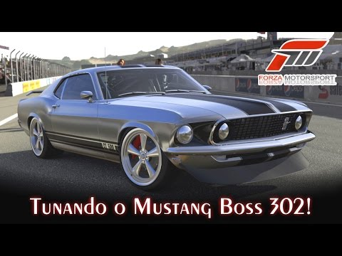 Tunando o Mustang Boss 302! - Eleanor - Muscle Cars Americanos! | Forza Motorsport 5 [PT-BR]