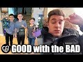 BACK TO SCHOOL LUNCHES and UNEXPECTED BAD NEWS | PHILLIPS FamBam Vlogs