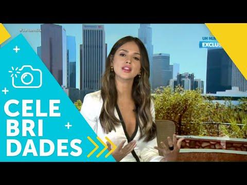 """Eiza González habla de la película """"Alita: Battle Angel""""   Un Nuevo Día   Telemundo"""