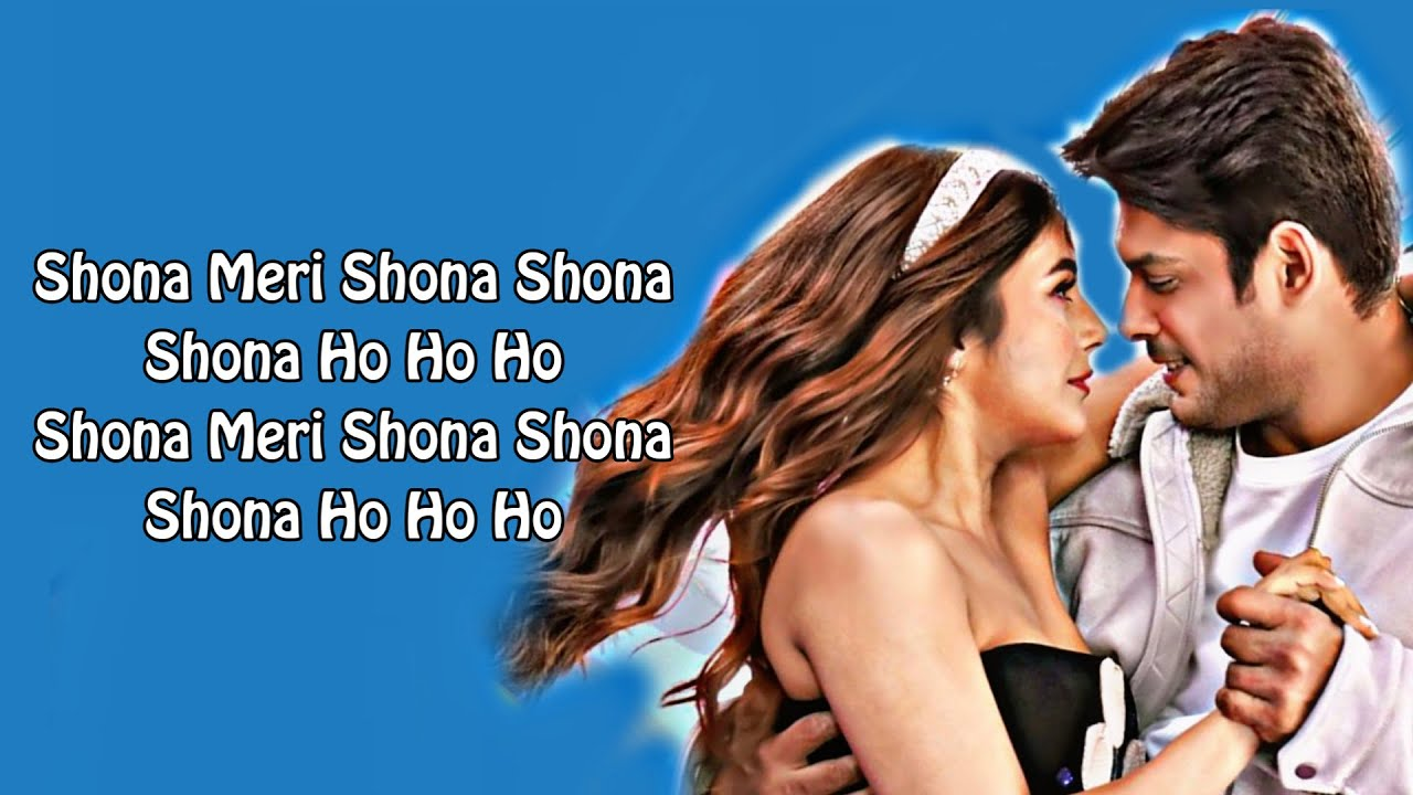 Shona Shona Full Song With Lyrics Neha Kakkar | Tony Kakkar Shona Meri Shona Shona Lyrics