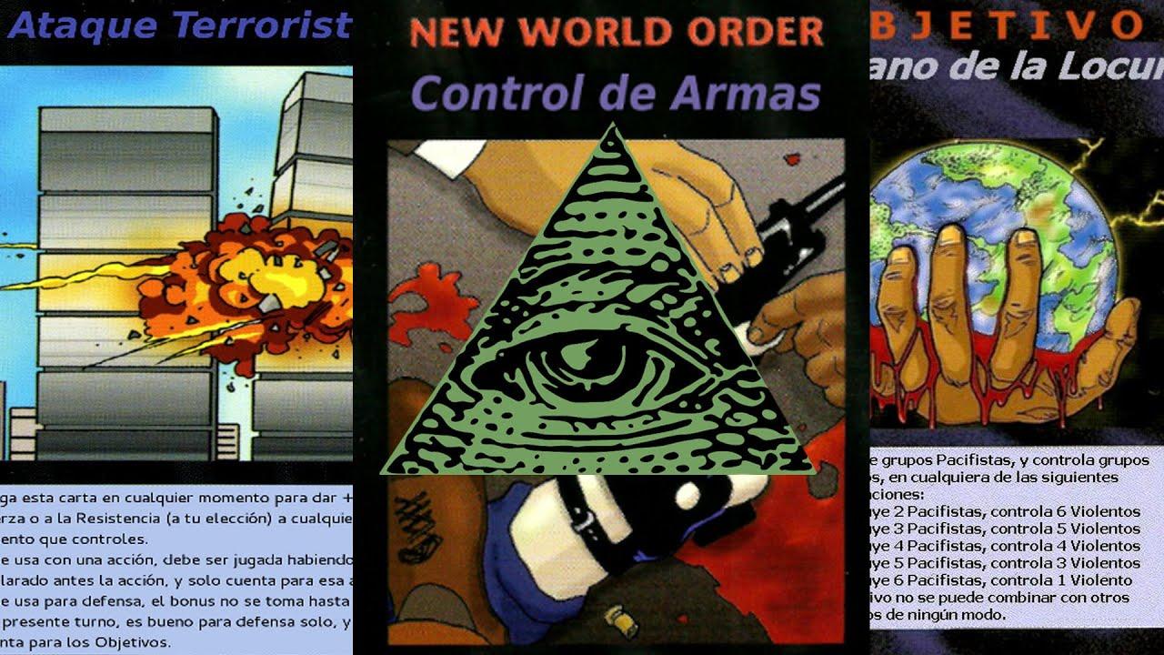 Las aterradoras cartas proféticas del NUEVO ORDEN MUNDIAL ILLUMINATI