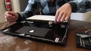How to replace laptop screen MSI GS63VR  7RF (4K Display)