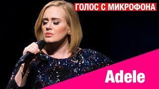 Голос с микрофона: Adele - Hello (Голый голос)
