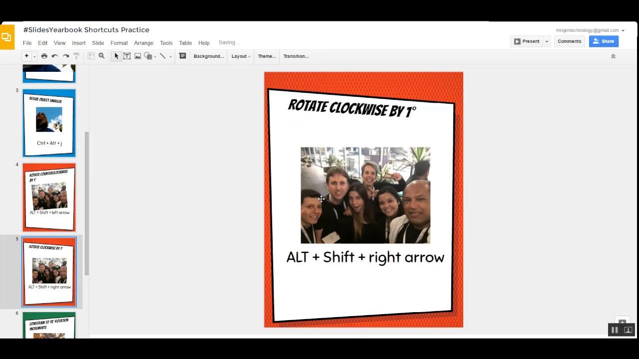 how to delete slides on google slides