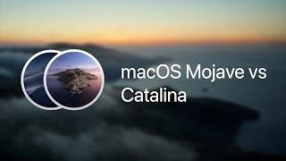 macOS Mojave vs Catalina