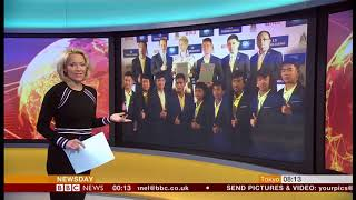 Thai cave boys 2018 story to be made into a film (Thailand) - BBC News - 1st May 2019