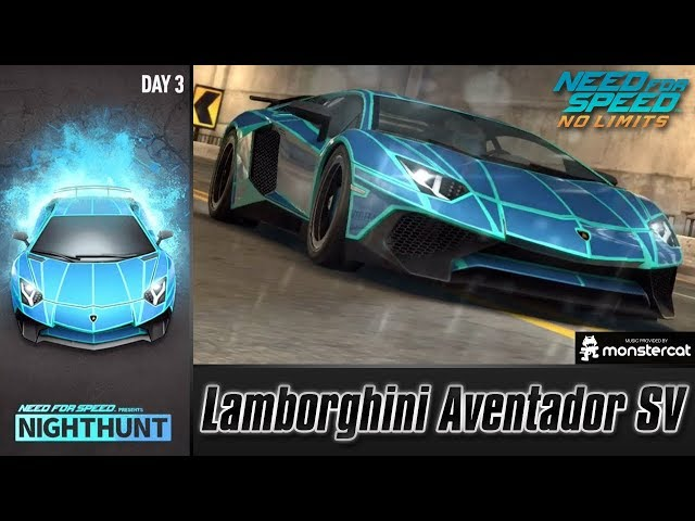 Need For Speed No Limits: Lamborghini Aventador SV | Nighthunt (Day 3 - Forget)