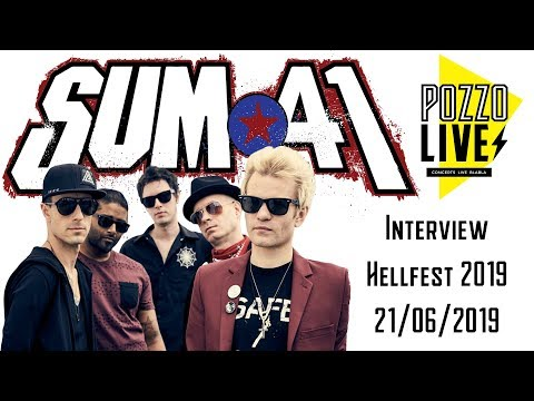 Sum 41 Interview at Hellfest 2019 - French Sub