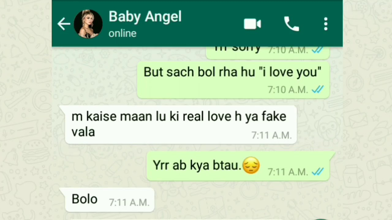 sexy whatsapp chat