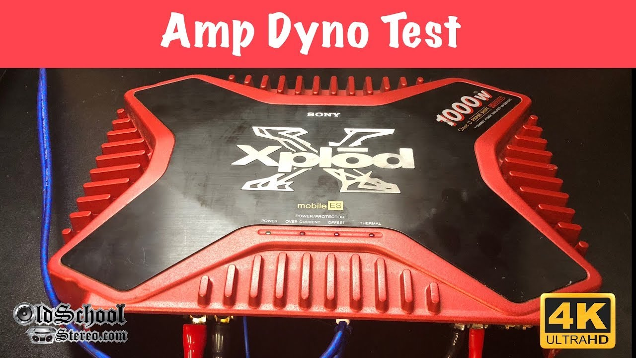 Did It Xplod 2001 Sony Mobile Es Amp Tested 4k Youtube
