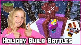 Playing X-mas Build Battles with Ronald